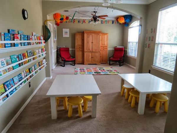Образец открытия детского сада на дому