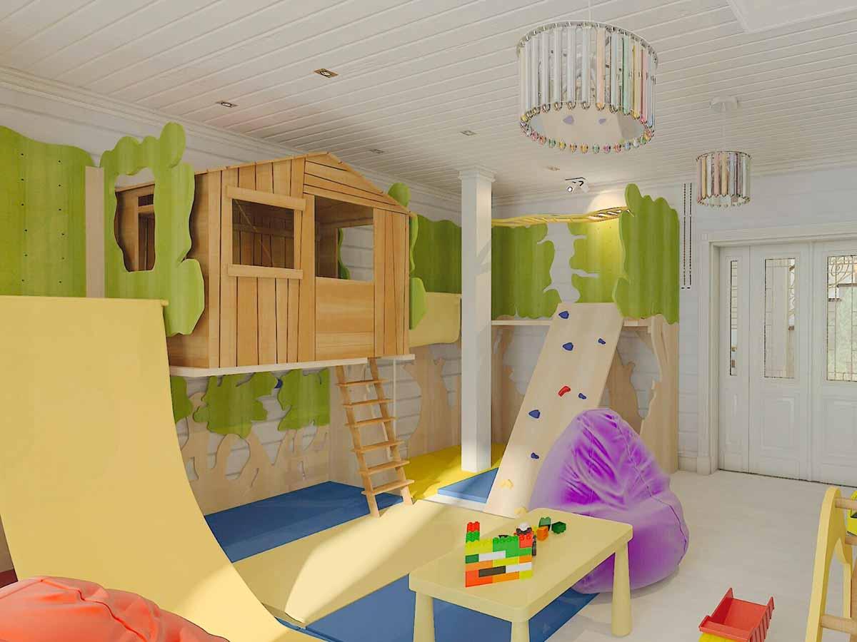 Детская комната для развлечений