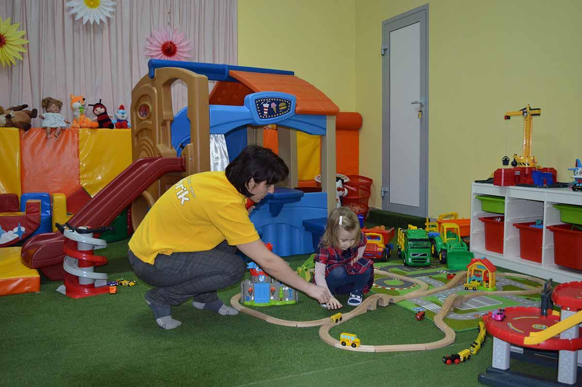 Персонал детской игровой комнаты