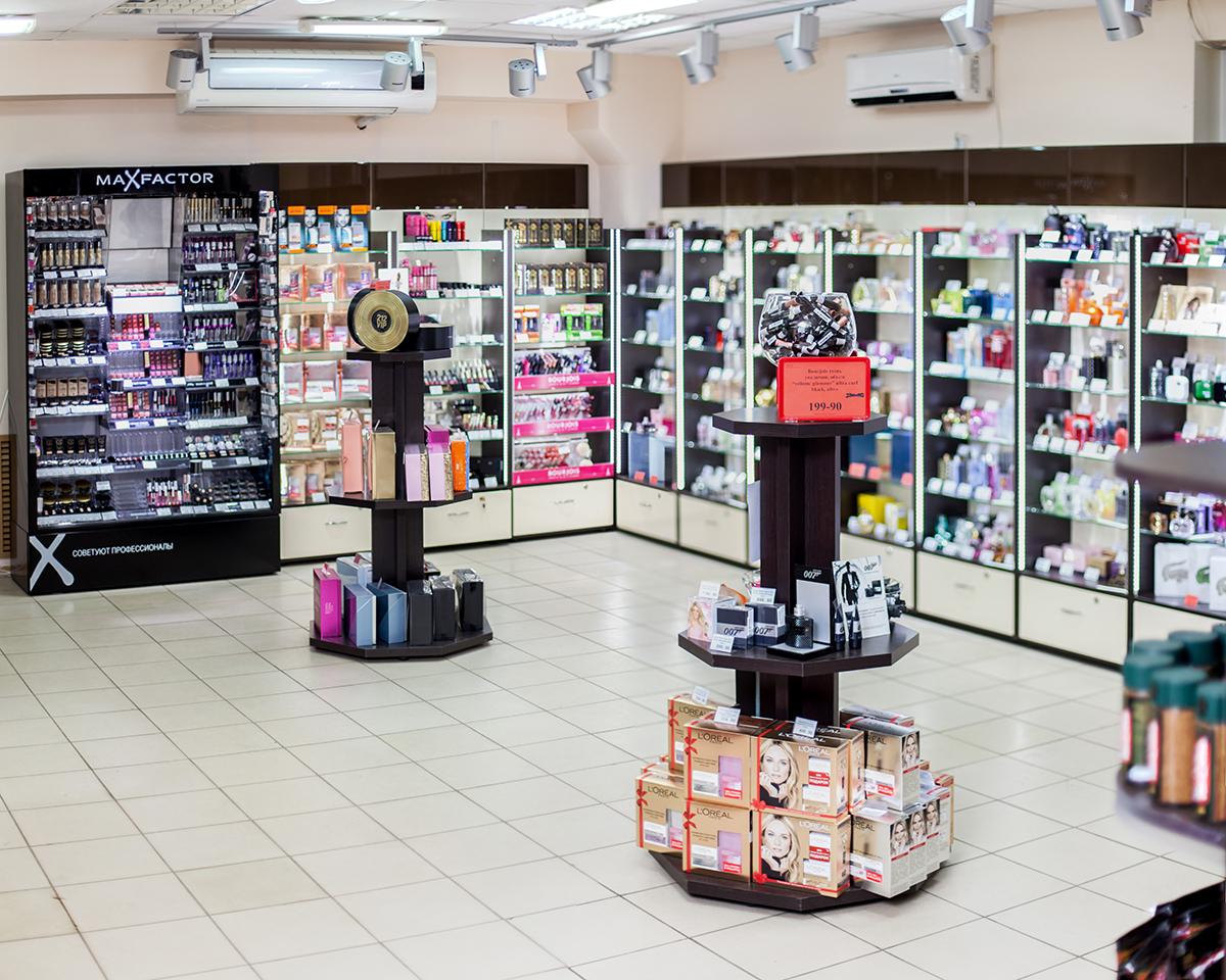Оборудование для магазина косметики и парфюмерии