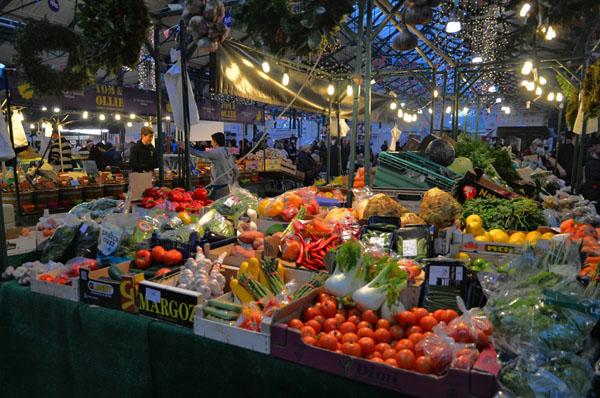 Открытие ларька по продаже овощей