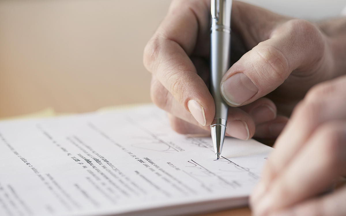 Как написать частную расписку: образец