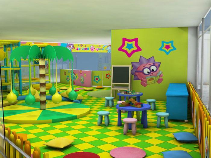 Зона игровой комнаты
