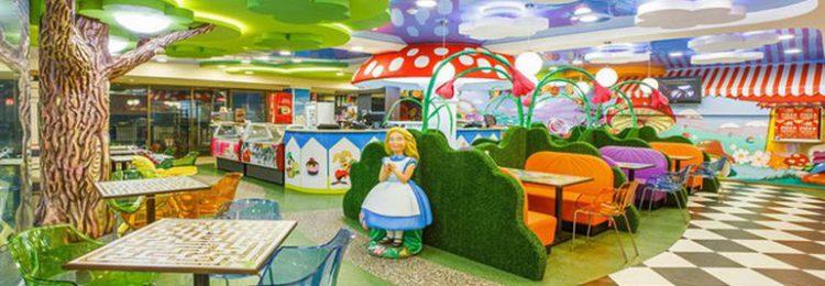 Интерьер кафе для детей